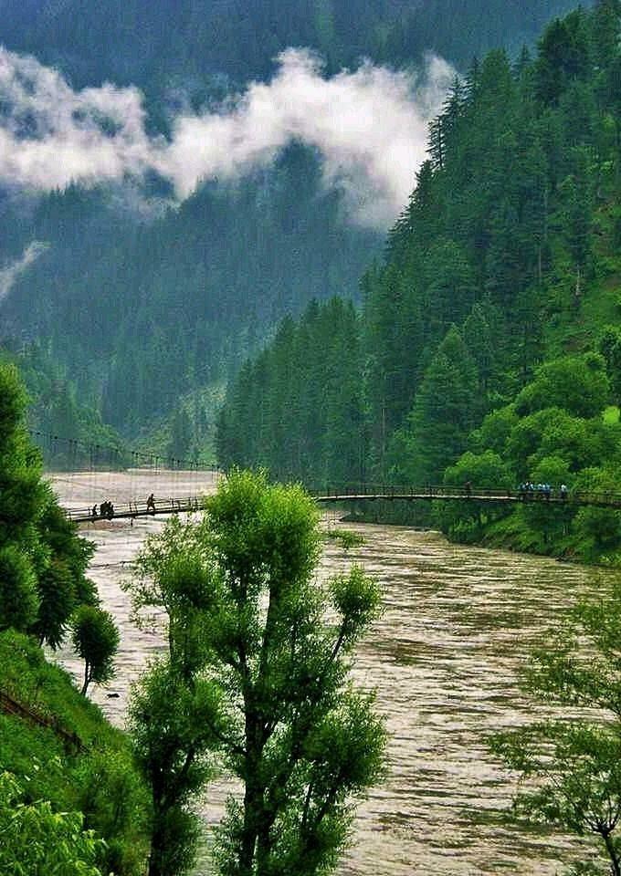 Kel, shardah, Neelam Valley Azad Kashmir Pakistan