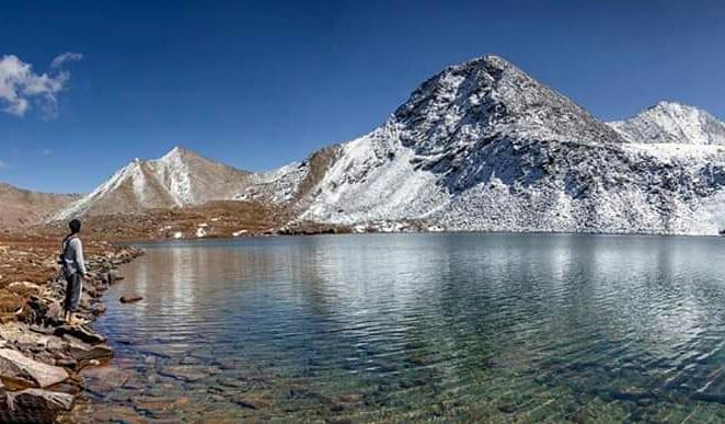 Chilas Batogh Top Lake chilas Pakistan