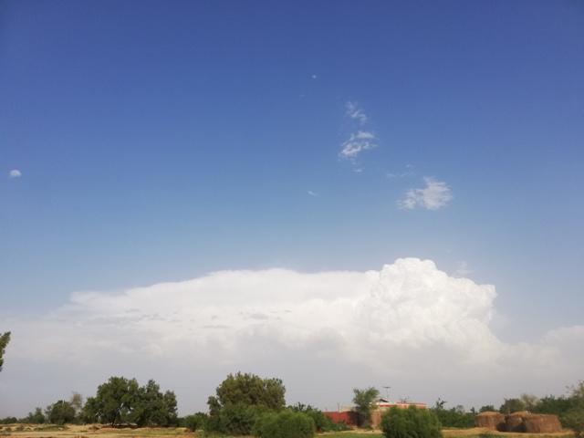 Cumulus clouds definition