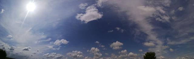 sky blue background wallpaper